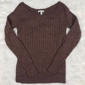 Aeropostale Brown Pull Over Sweater Size Large